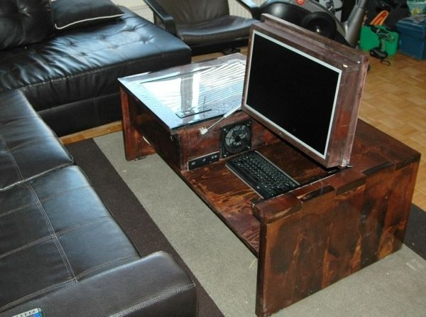 Magnificent Series Of Desk Coffee Tables Intended For Best 25 Computer Tables Ideas Only On Pinterest Rustic Computer (Image 36 of 50)