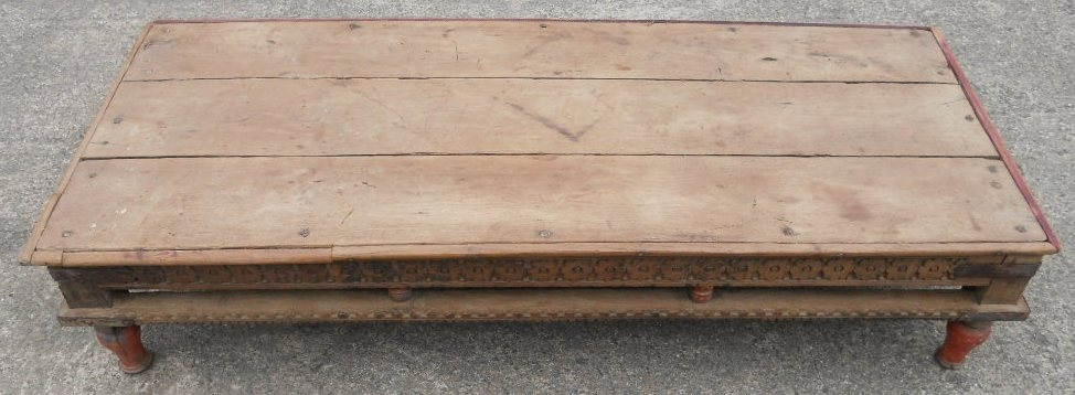 Magnificent Series Of Large Wood Coffee Tables In Rustic Style Wood Coffee Table Sold (Image 33 of 50)