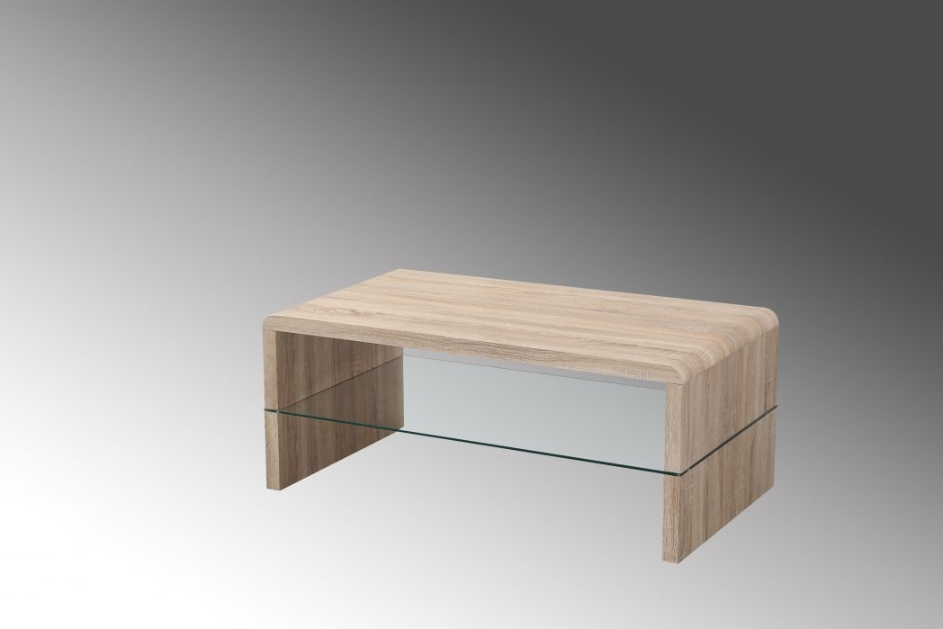 Magnificent Series Of Oak Coffee Table With Shelf With Regard To Oak Coffee Table With Shelf Coffee Tables Thippo (View 13 of 50)