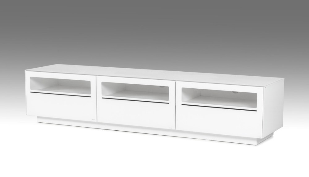 Magnificent Series Of Ovid TV Stands Black Pertaining To Ovid Tv Stand White Home Design Ideas (Photo 26 of 50)