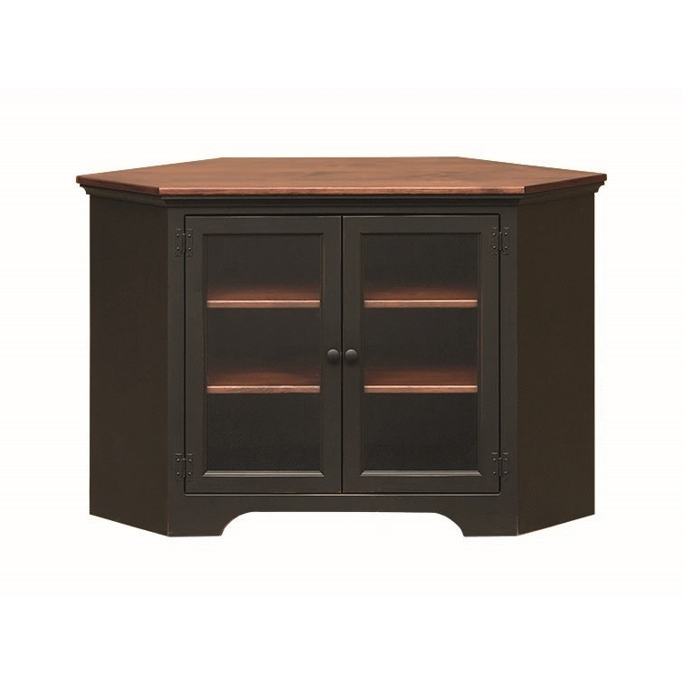 Magnificent Series Of Pine Corner TV Stands Intended For Pine Corner Tv Stand Amish Pine Corner Tv Stand Country Lane (Image 38 of 50)