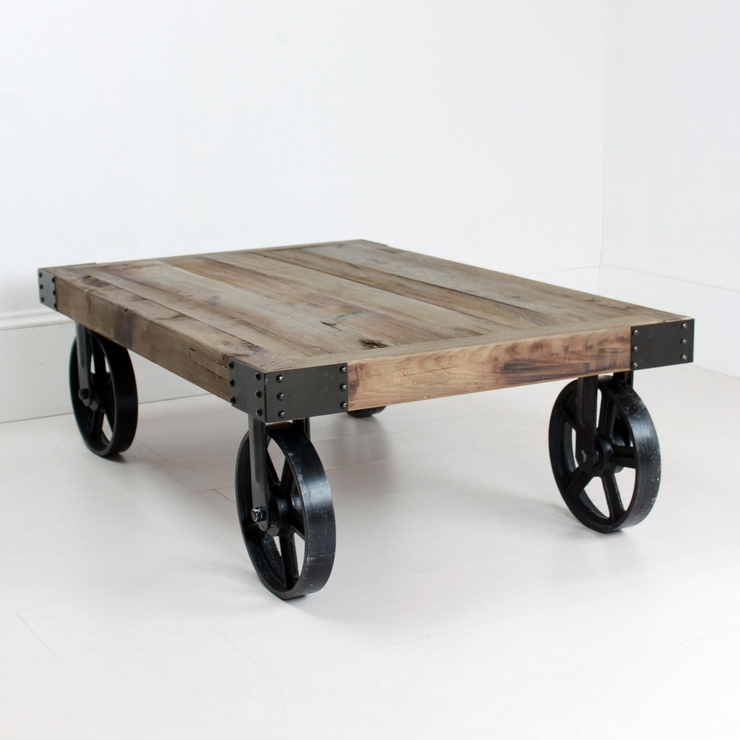 Magnificent Series Of Rustic Coffee Table With Wheels In Coffee Table Remarkable Coffee Tables With Wheels Round Coffee (Image 34 of 50)
