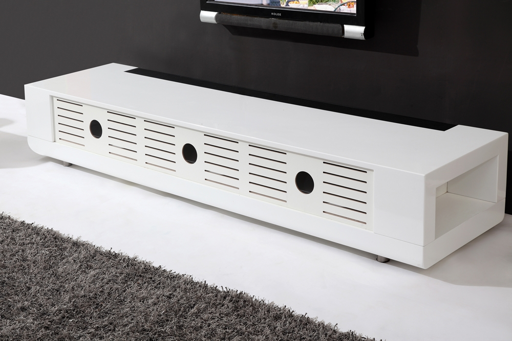 Magnificent Series Of White Gloss TV Stands For B Modern Editor Remix Tv Stand White High Gloss B Modern (Image 38 of 50)