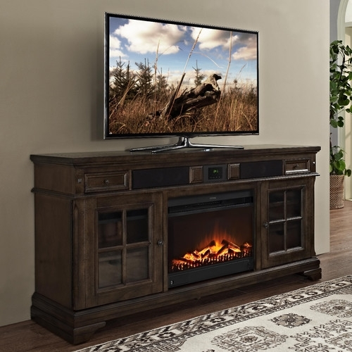 Magnificent Top Bjs TV Stands Pertaining To Fireplace Tv Stand Bjs Fireplaces (Image 37 of 50)