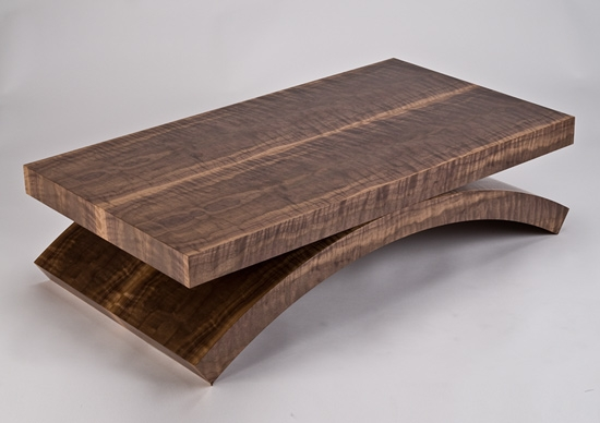 Magnificent Top Dark Coffee Tables Inside Black Walnut Rectilinear Coffee Table Enrico Konig Wood Coffee (Image 40 of 50)