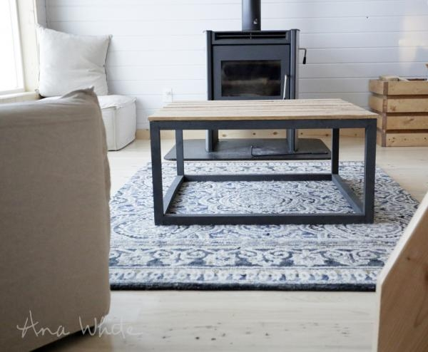Magnificent Top Industrial Style Coffee Tables In Ana White Industrial Style Coffee Table As Seen On Diy Network (View 19 of 50)