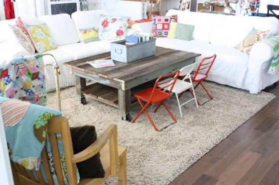 Magnificent Top Kids Coffee Tables With Regard To Reclaimed Wood Coffee Table A Little Rearranging The (Image 41 of 50)