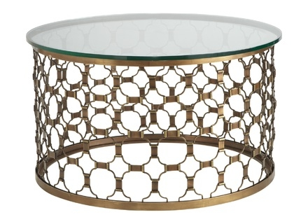 Magnificent Top Metal Round Coffee Tables With Round Metal And Glass Coffee Tables Jerichomafjarproject (View 43 of 50)