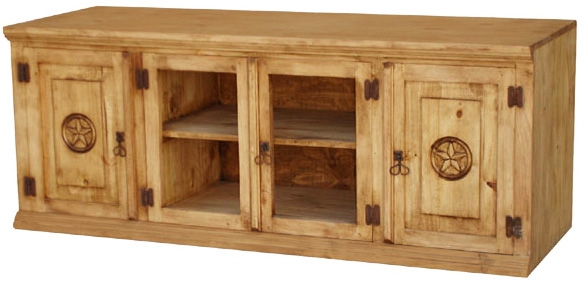 Magnificent Top Pine TV Stands Pertaining To Rustic Furniture Lg Santa Maria Star Mexican Rustic Pine Tv Stand (Image 38 of 50)
