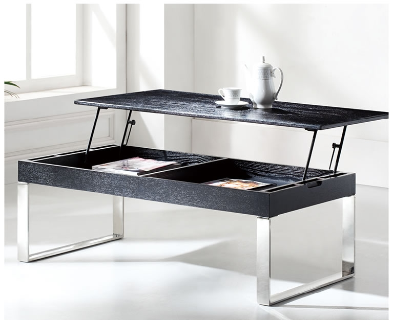 Magnificent Top Raisable Coffee Tables Regarding Koryo Coffee Table With Lift Top Modern Coffee Tables (View 15 of 40)