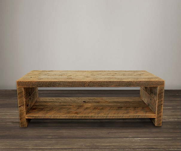 Magnificent Top Reclaimed Wood Coffee Tables In Pros Of Buying The Reclaimed Wood Coffee Table Tcg (View 22 of 50)