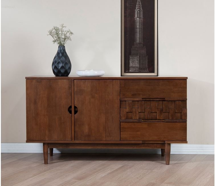 Magnificent Top Sideboard TV Stands Regarding Credenza Buffet Tv Stand Mid Century Modern Sideboard Storage (View 28 of 50)