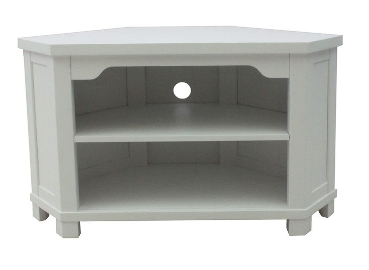 Magnificent Top Small White TV Stands With Best 25 Corner Tv Console Ideas Only On Pinterest Corner Tv (Image 34 of 50)