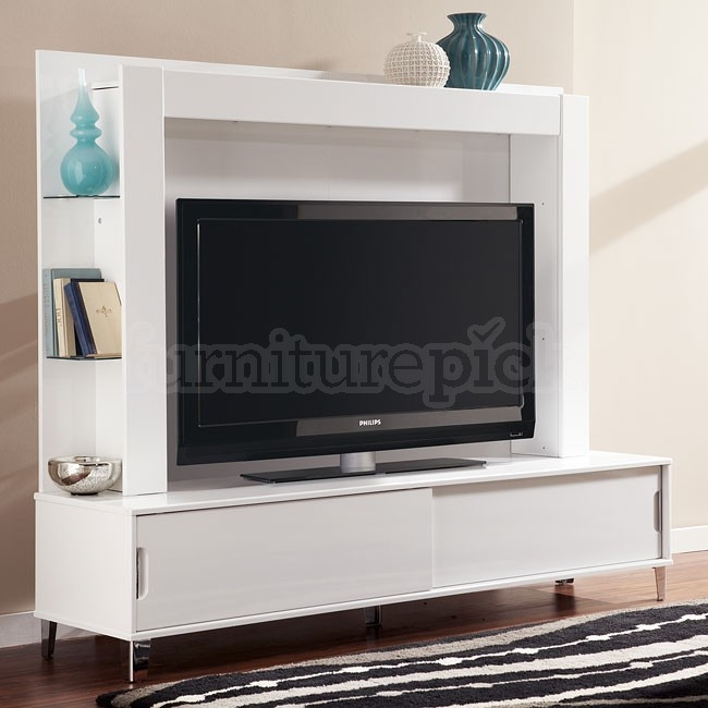 Magnificent Top TV Stands With Back Panel With Regard To Culverden Extra Large Tv Stand W Back Panel Signature Design (View 2 of 50)