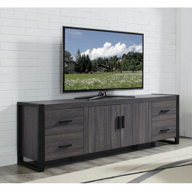Magnificent Top TV Stands With Storage Baskets With Regard To Tv Stand With Baskets (View 23 of 50)