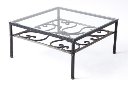Magnificent Top Wrought Iron Coffee Tables Throughout Iron Coffee Table (Image 34 of 50)