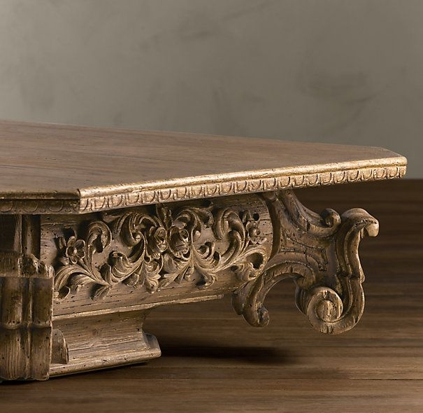 Magnificent Trendy Baroque Coffee Tables Throughout 35 Best Restoration Hardware 3 Images On Pinterest (Image 37 of 50)