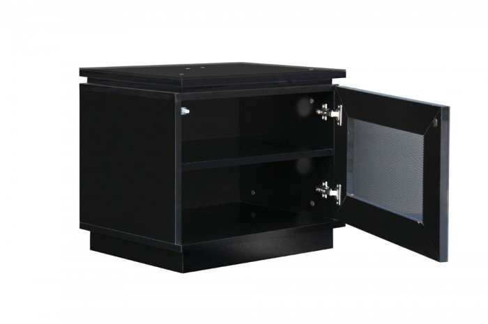 Magnificent Trendy Black TV Cabinets In Mmt Diamond D550 Gloss Black Tv Cabinet 550mm Wide (Image 38 of 50)