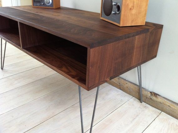 Magnificent Trendy Hairpin Leg TV Stands Pertaining To 70 Best Tv Standscabinets Images On Pinterest (Image 35 of 50)