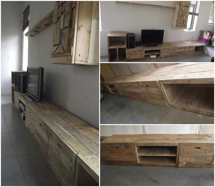 Magnificent Trendy Long Wood TV Stands Intended For Pinterestteki 25ten Fazla En Iyi Long Tv Stand Fikri Bodrum Tv (Image 36 of 50)