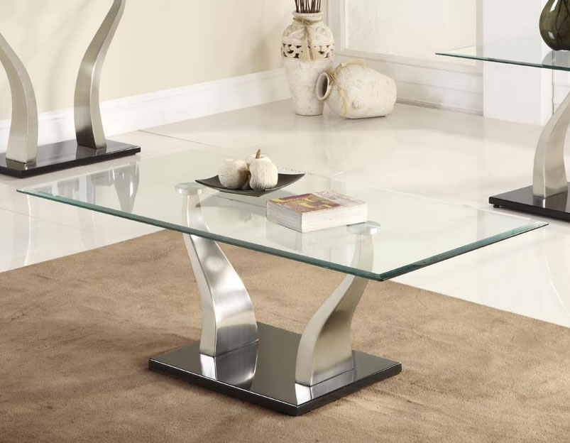 Magnificent Trendy Modern Glass Coffee Tables Throughout Coffee Table Fascinating Glass Modern Coffee Table Sets Rectangle (Image 39 of 50)