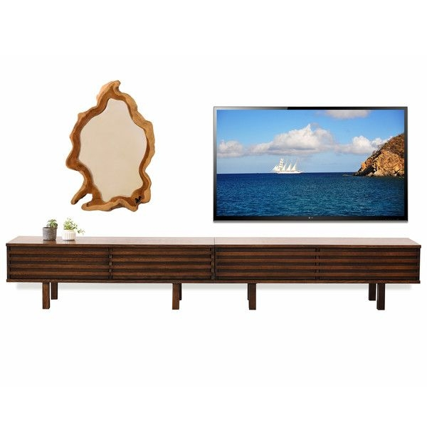 Magnificent Trendy Modern Low TV Stands Throughout Best 25 Low Tv Stand Ideas On Pinterest Living Room Tv Living (View 23 of 50)