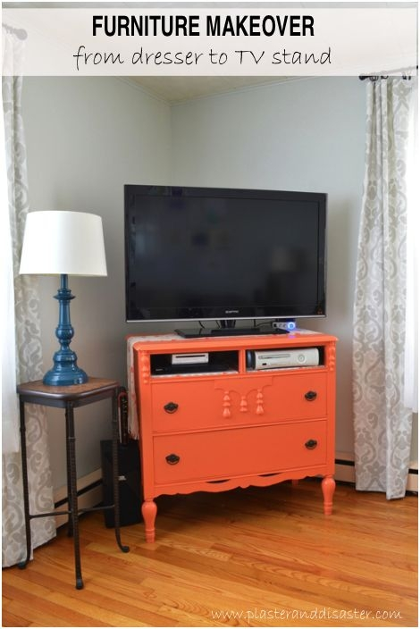 Magnificent Trendy Small TV Stands For Top Of Dresser With Best 25 Dresser Tv Stand Ideas On Pinterest Furniture Redo Diy (View 4 of 50)