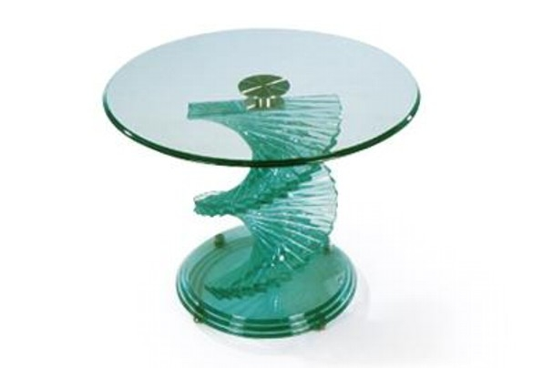Magnificent Trendy Spiral Glass Coffee Table Throughout New Home Furnishers Coffee Tables (View 21 of 50)
