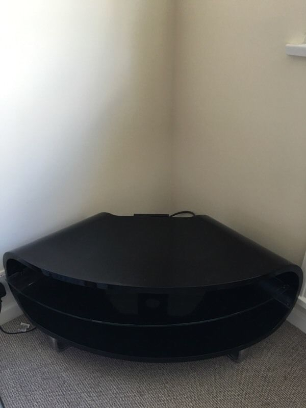 Magnificent Trendy Techlink Corner TV Stands With Regard To Techlink Corner Tv Stand Black Gloss In Alton Hampshire Gumtree (View 4 of 50)