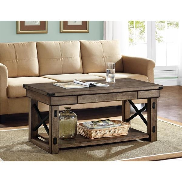 Magnificent Unique Grey Wood Coffee Tables Pertaining To Wonderful Gray Coffee Table (Image 39 of 50)