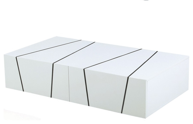 Magnificent Unique Lacquer Coffee Tables Throughout Jaxon Modern Coffee Table White Lacquer Modern Coffee Tables (Image 29 of 40)