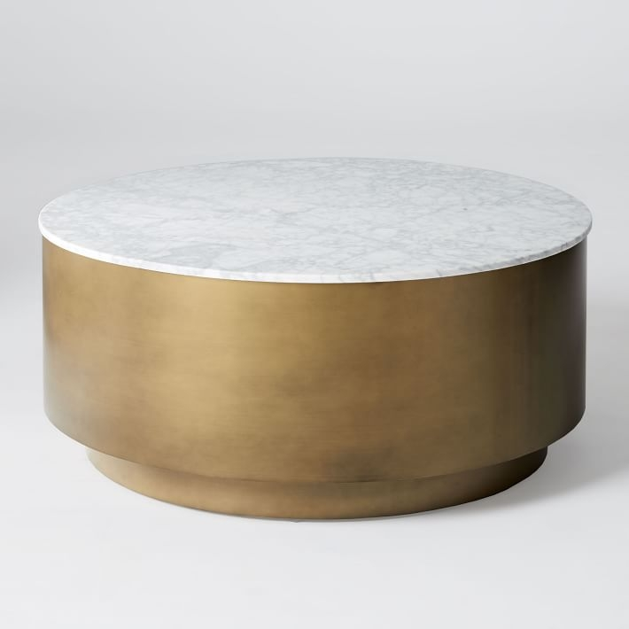 Magnificent Unique Silver Drum Coffee Tables Inside Metal Drum Coffee Table Idi Design (Image 37 of 50)