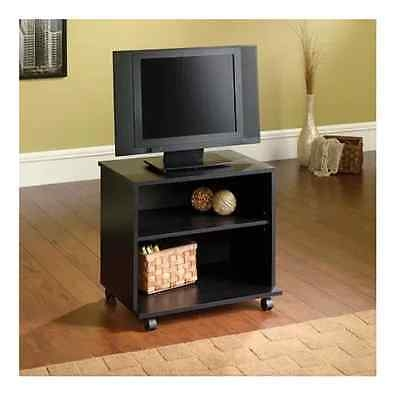 Magnificent Unique Small TV Stands On Wheels Within Portable Tv Stand With Wheels Rolling Media Cart Wood Small Tvs (Image 35 of 50)