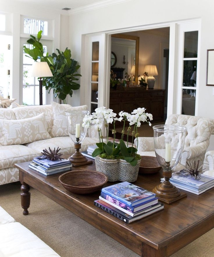 Magnificent Variety Of Big Square Coffee Tables For Best 25 Coffee Table Arrangements Ideas On Pinterest Coffee (Image 36 of 50)