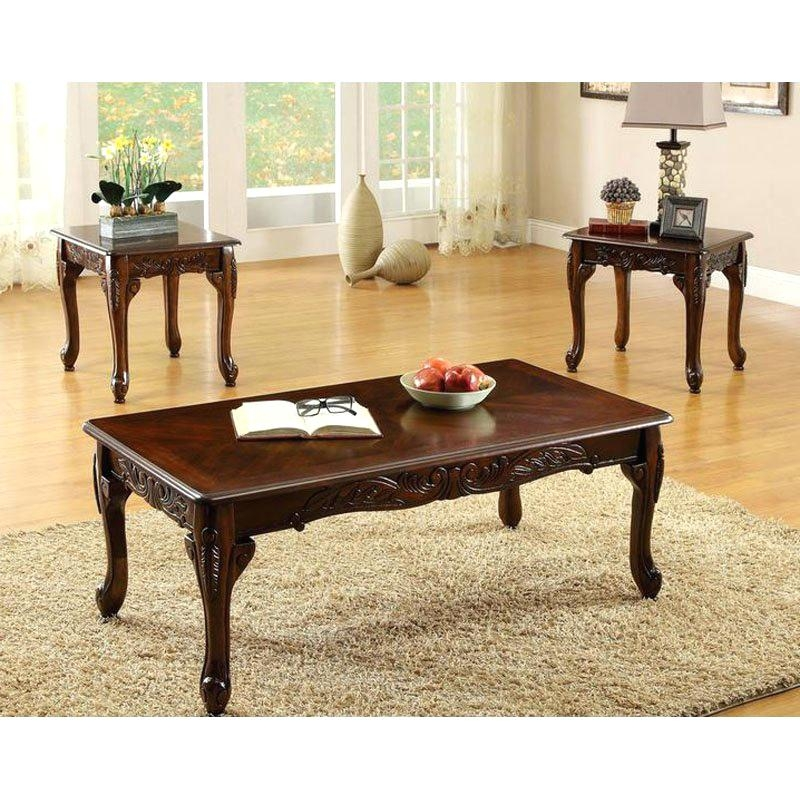Magnificent Variety Of Cherry Wood Coffee Table Sets With Coffee Table Cherry Wood Coffee Table Ovalcherry Set Dark Cherry (Image 41 of 50)