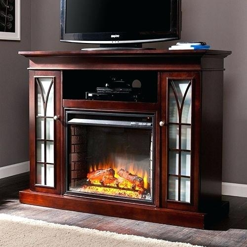 Magnificent Variety Of Classy TV Stands For Small Electric Fireplaces Tv Stand Thephotobayco (View 23 of 50)