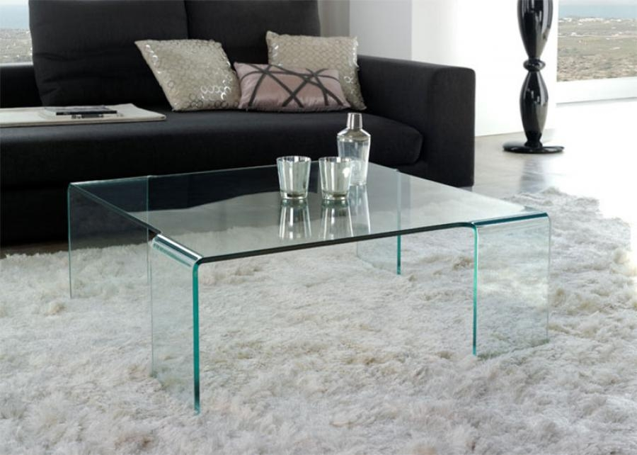 Magnificent Variety Of Contemporary Glass Coffee Tables  Pertaining To Coffee Table Modern Glass Coffee Table With Polished Concrete (Image 41 of 50)