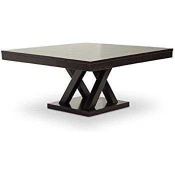 Magnificent Variety Of Dark Brown Coffee Tables With Regard To Amazon Baxton Studio Sa108 Coffee Table Everdon Modern Coffee (Image 38 of 50)