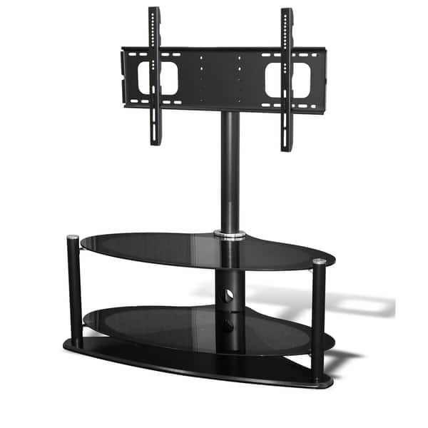 Magnificent Variety Of Denver TV Stands With Denver Plus Oval 3 Tier Tv Stand With Floating Swivel Bracket (Image 34 of 50)