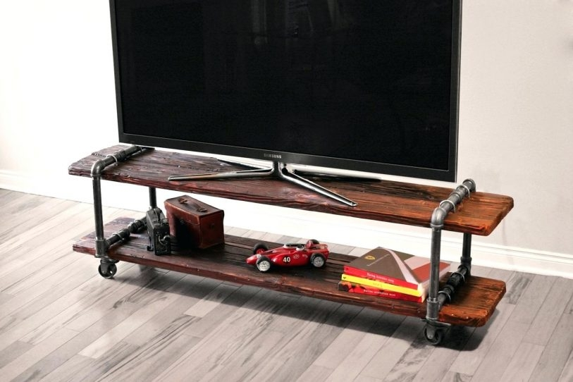 Magnificent Variety Of Industrial Corner TV Stands Inside Diy Tv Stand Ideas Flideco (Image 42 of 50)