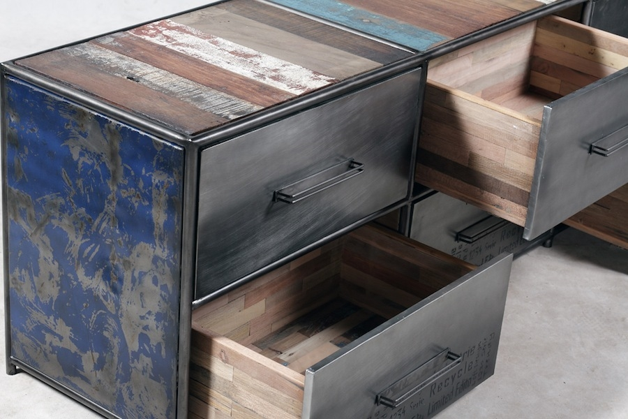 Magnificent Variety Of Industrial Metal TV Cabinets For Brooklyn Finest Industrial Metal Tv Stand Tv Media Units (Image 38 of 50)