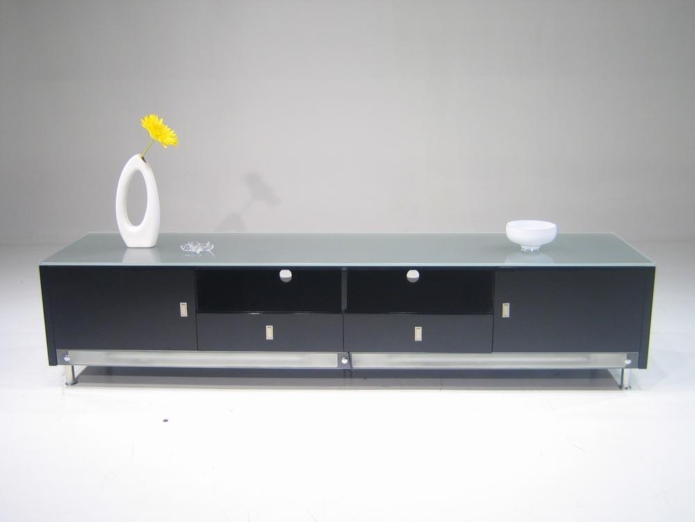 Magnificent Variety Of Long Low TV Stands Regarding Low Profile Lighted Plasma Cabinet Tv Stands (Image 35 of 50)
