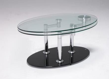 Magnificent Variety Of Oval Black Glass Coffee Tables Pertaining To Oval Black Coffee Table Jerichomafjarproject (Image 38 of 50)