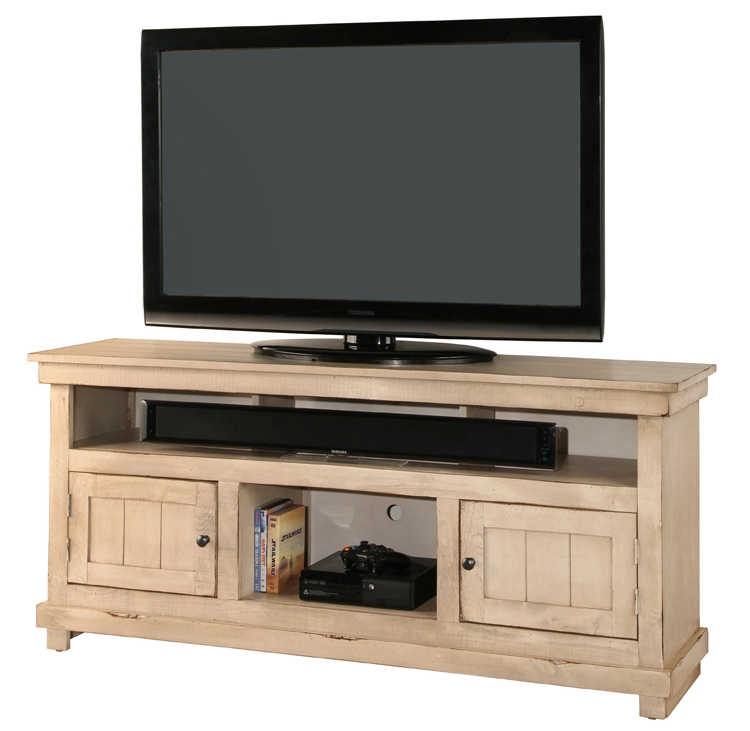 Magnificent Variety Of White Rustic TV Stands With Regard To 60 Rustic Console White (Image 34 of 50)