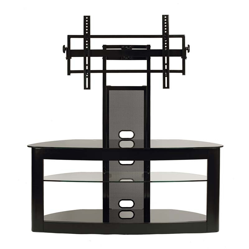Magnificent Well Known 65 Inch TV Stands With Integrated Mount In Transdeco Glass Tv Stand With Mounting System For 35 65 Inch (Image 37 of 50)