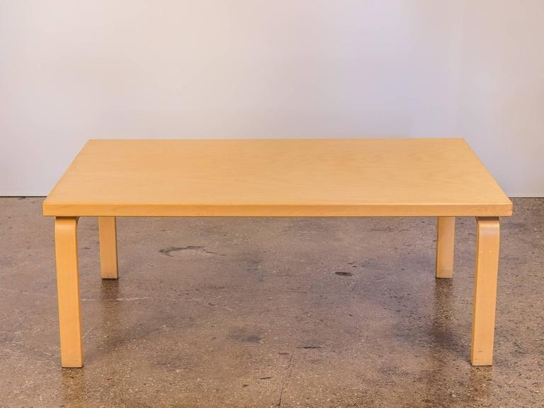 Magnificent Well Known Birch Coffee Tables Pertaining To Alvar Aalto Coffee Table At 1stdibs (Image 37 of 50)