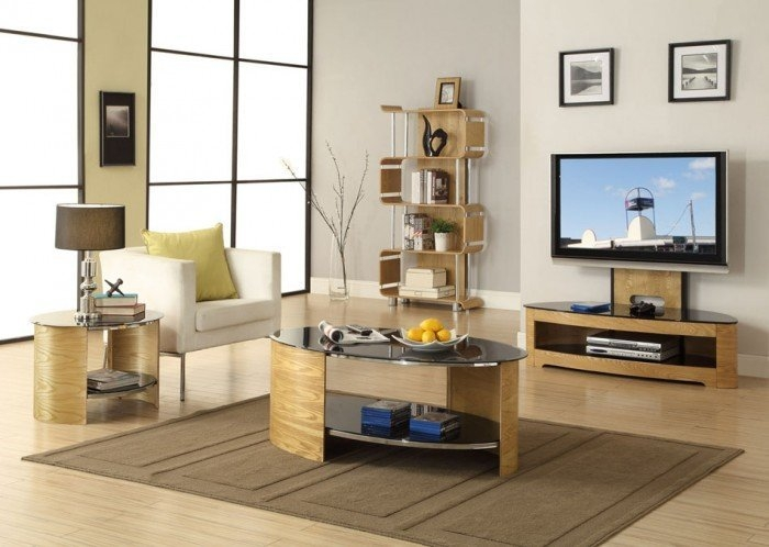 Magnificent Well Known Cantilever TV Stands Pertaining To Jual Curve Jf209 Oak Cantilever Tv Stand (Image 35 of 50)