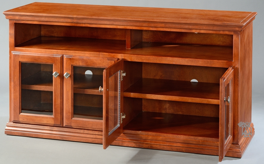 Magnificent Wellknown Cherry TV Stands With Hoot Judkins Furnituresan Franciscosan Josebay Areaoak Wood (Image 36 of 50)