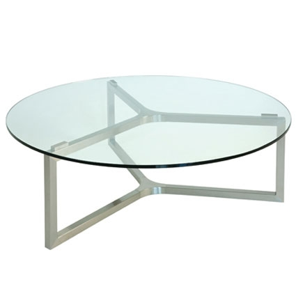 Magnificent Wellknown Circular Glass Coffee Tables Inside Coffee Table Mesmerizing Round Glass Coffee Table Metal And Glass (Image 36 of 50)