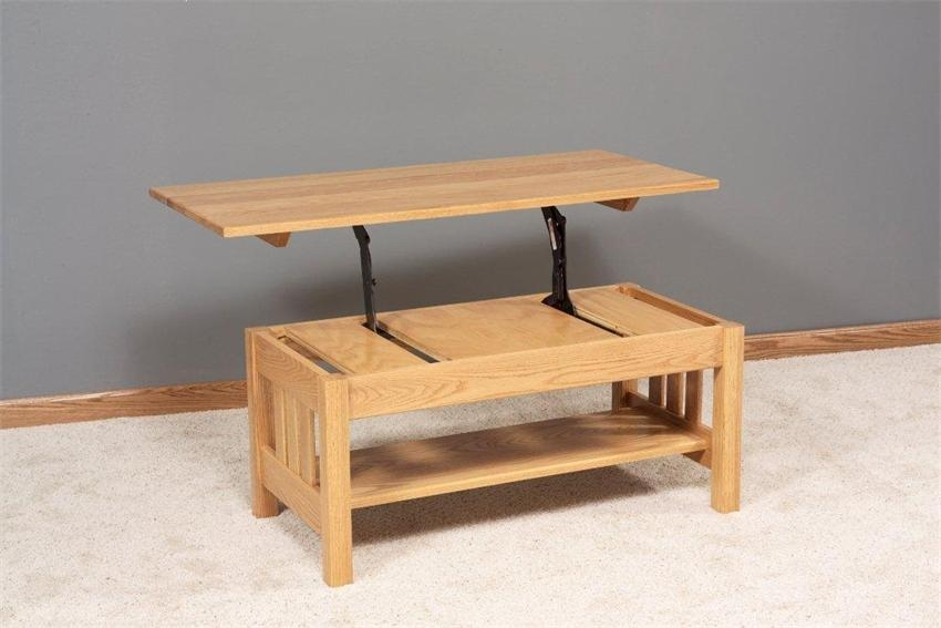 Magnificent Well Known Coffee Tables With Lift Up Top Regarding Coffee Table Cool Build Lift Top Coffee Table Lift Up Top Coffee (Image 27 of 40)